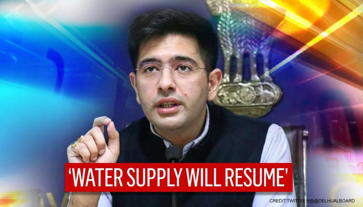 Delhi to receive normal water supply after shortage due to spike in ammonia levels: Chadha