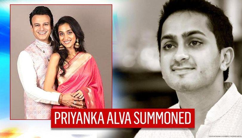 Vivek Oberoi's wife Priyanka summoned as CCB hunt for Aditya Alva in drug probe continues