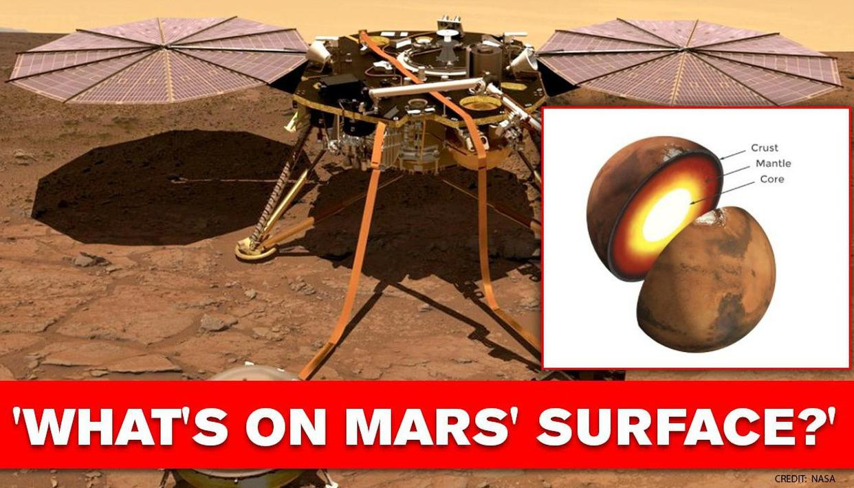 NASA InSight lander uncovers Mars' surface details in seismograph data - Republic World