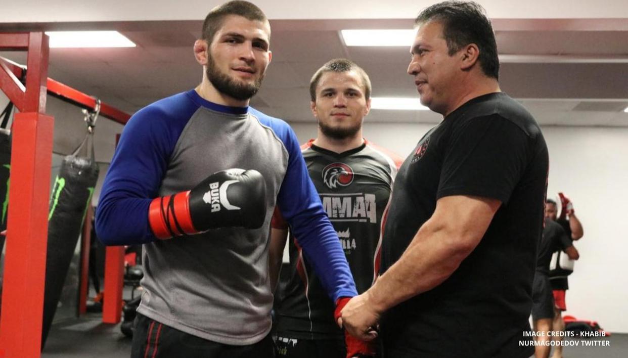 Khabib Nurmagomedov plans training for UFC 254 bout against Justin Gaethje outside the US - Republic World