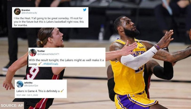 Lakers Bully Heat Embark On 75 30 Run In Game 1 Of Nba Finals As Fans Praise Lebron Co Republic World