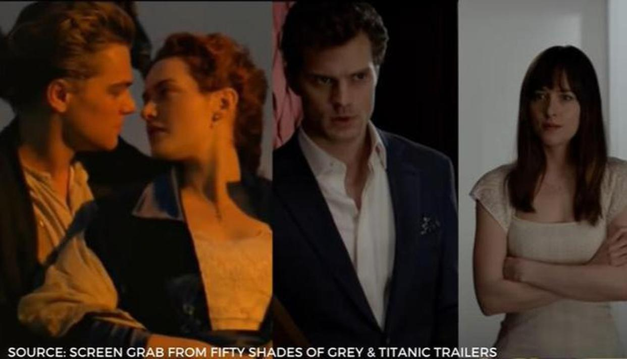 'Fifty Shades of Grey' to 'Titanic'; top 10 highest-grossing romantic Hollywood movies - Republic World