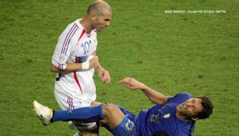 why did zidane headbutt materazzi
