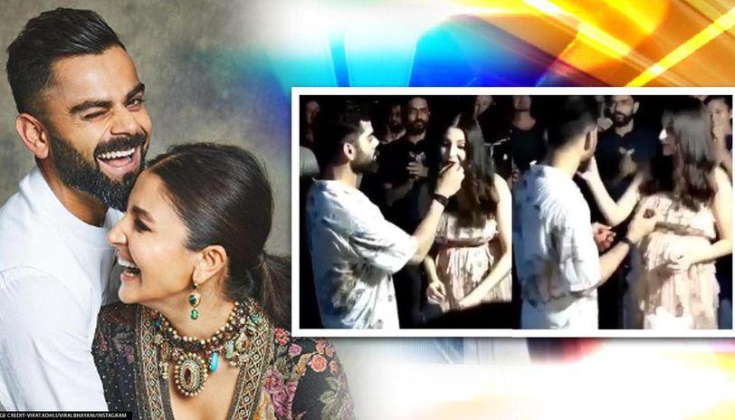 Virat Kohli celebrates birthday with wife Anushka Sharma ...