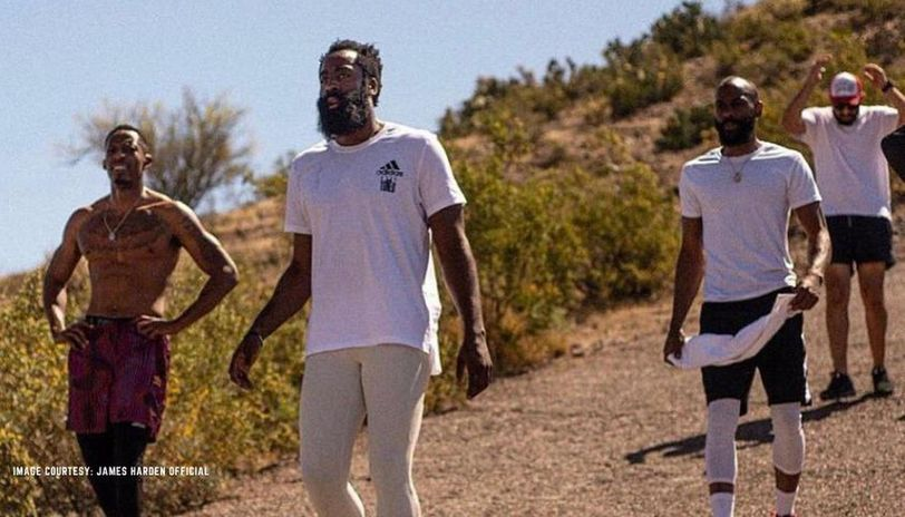 James Harden's remarkable weight loss during NBA lockdown period ...