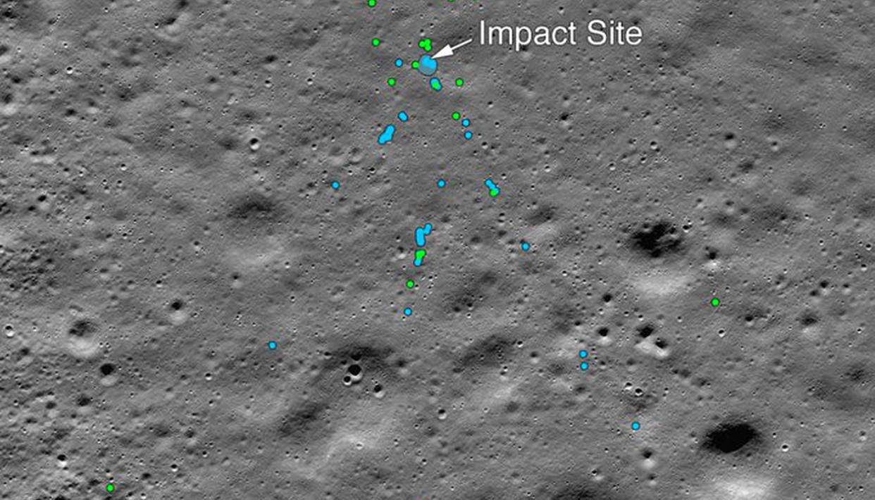 Did you lose this? NASA spots wreckage from India's Vikram lunar lander
