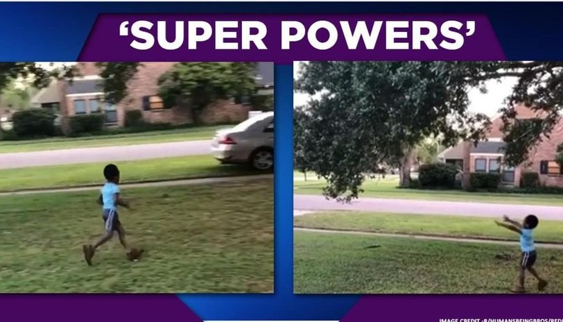 Video of kid using his 'superpower' hits internet, netizens share similar incidents