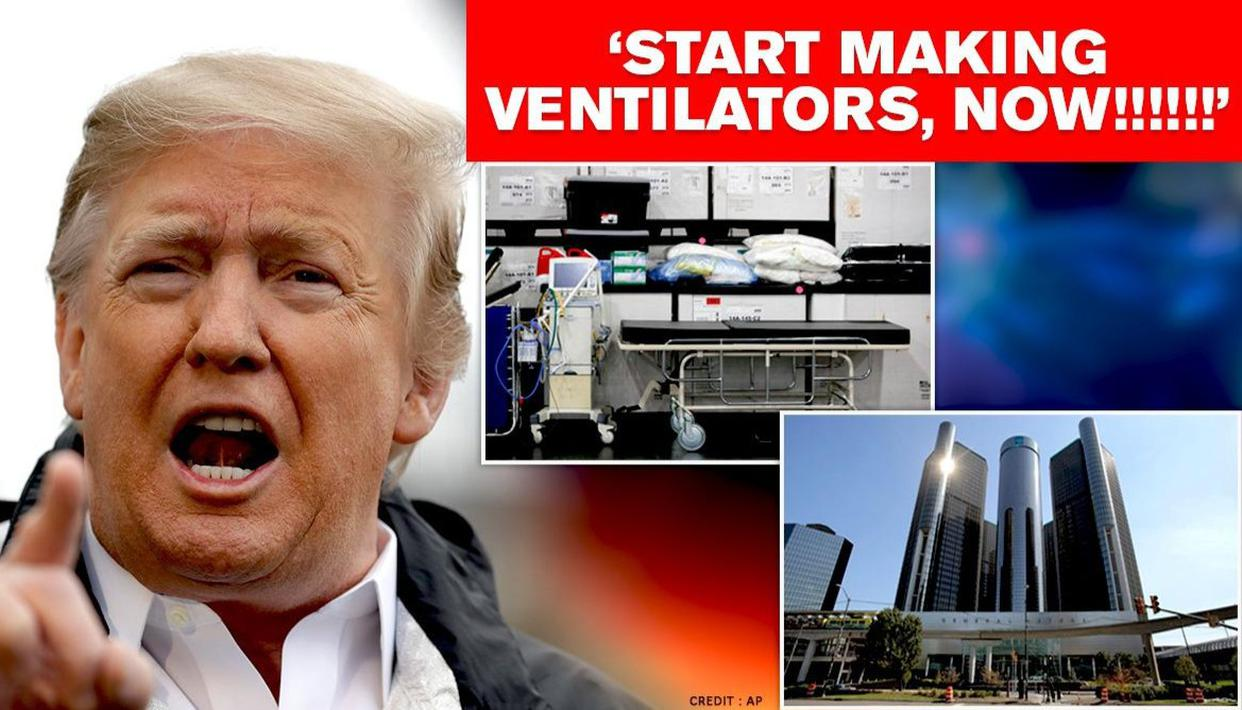 Trump Invokes Production Law, Ordering GM to Build Ventilators