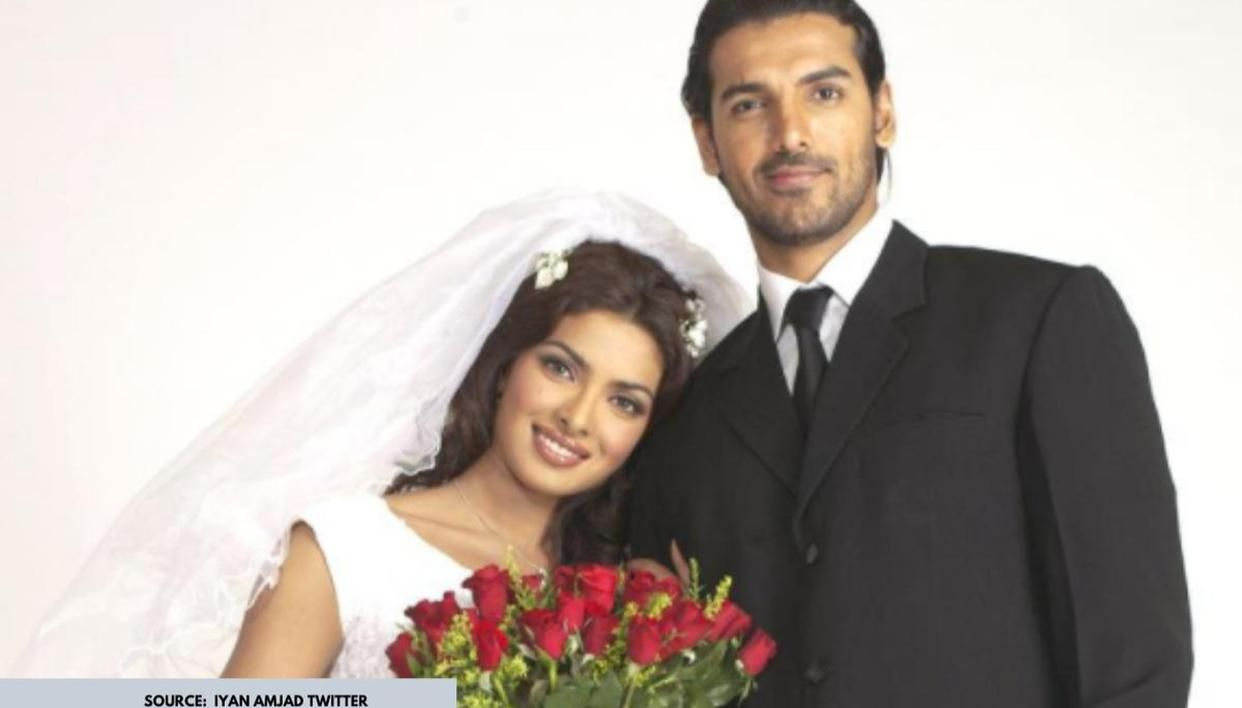 Unseen Pic Of The Day: When Priyanka Chopra and John Abraham were snapped on 'Karam' sets - Republic World