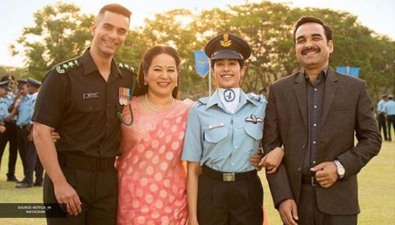 Gunjan Saxena The Kargil Girl Reviewed By Satish Kaushik Milap Zaveri Other Celebs Republic World