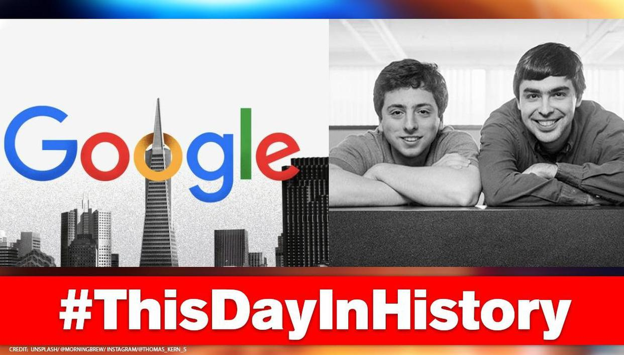 Google was founded on this day in 1998; know the Stanford university students behind it - Republic World