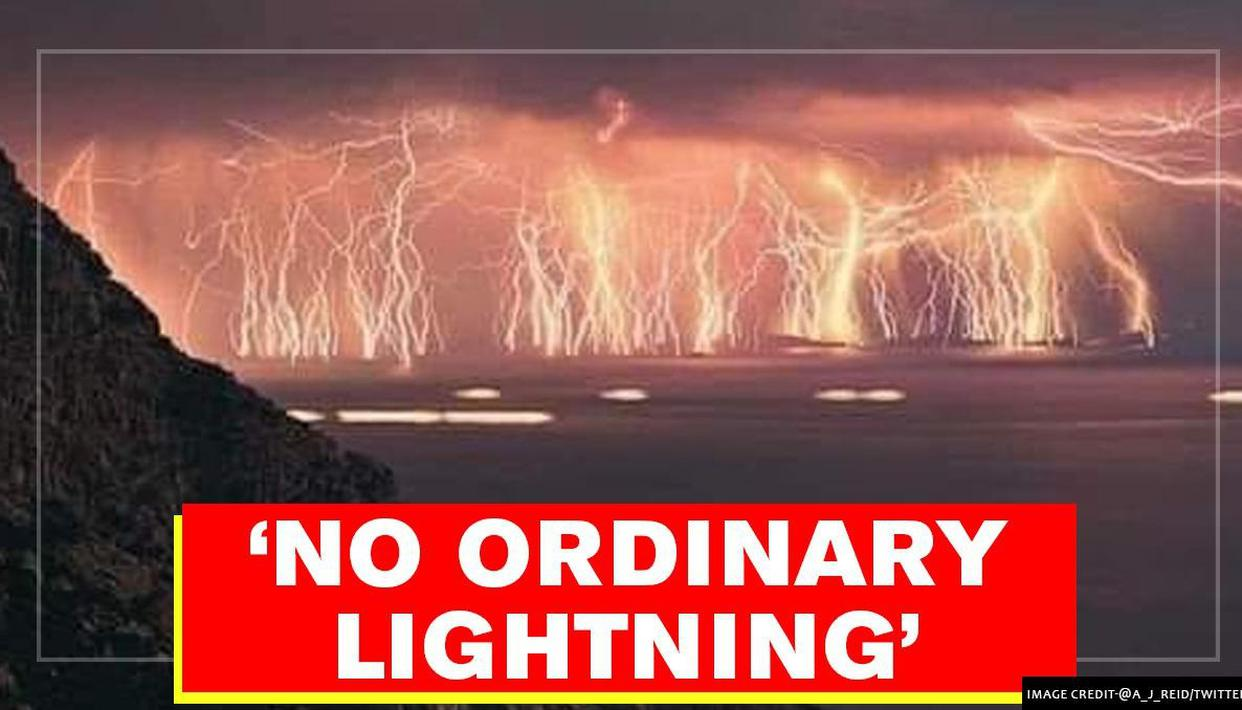 Britain: Colourful 'silent lightning' engulfs the night sky, residents mesmerised - Republic World