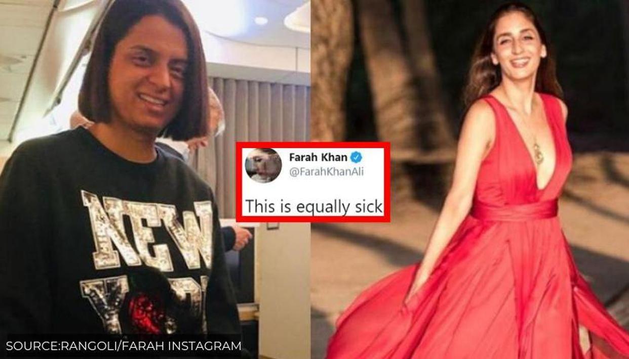 Farah Khan Ali Slams Trolls Mocking Rangoli Chandel S Acid Attack This Is Equally Sick Republic World