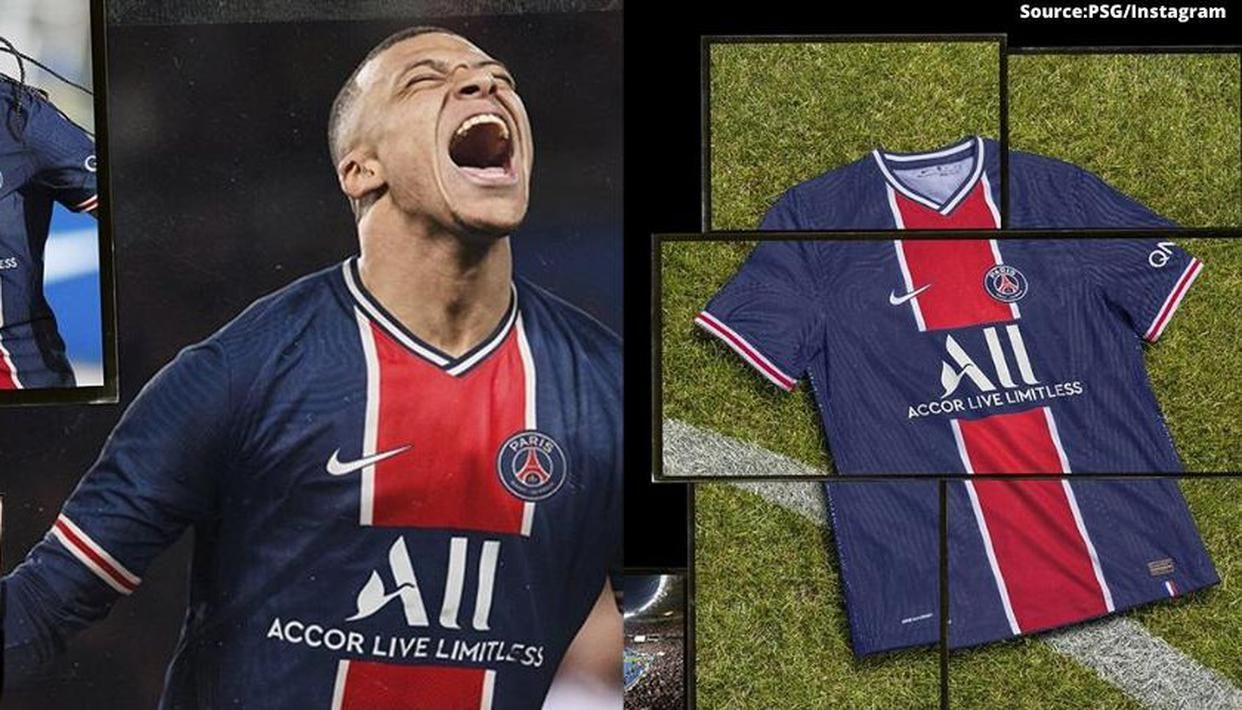 Psg Unveil Iconic New Kits To Mark 50th Anniversary As Mbappe Marquinhos Sport New Look