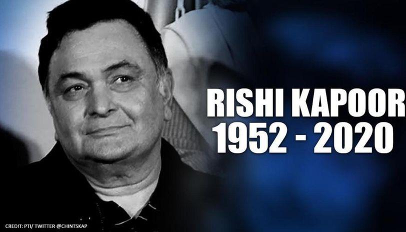 rishi kapoor's death