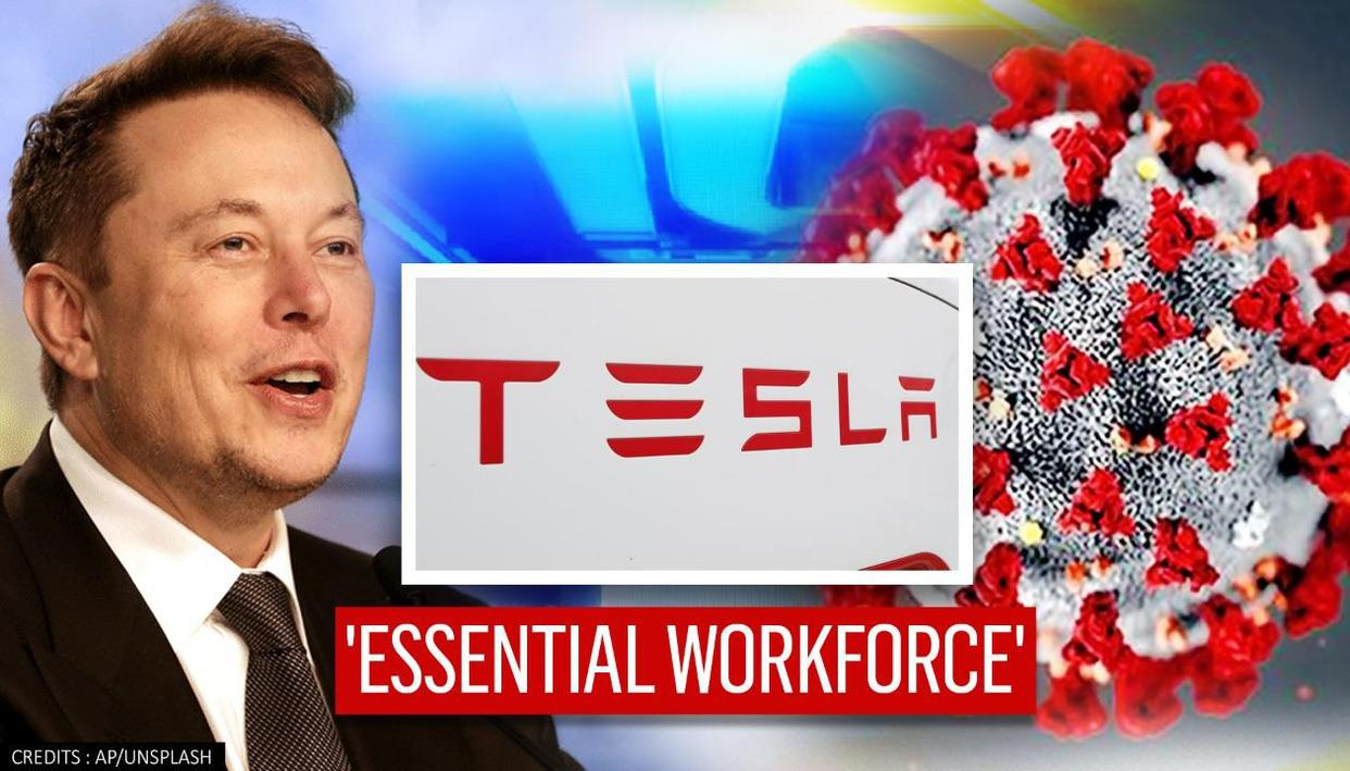 Tesla California exempted from new COVID-19 restrictions, listed as 'essential business'