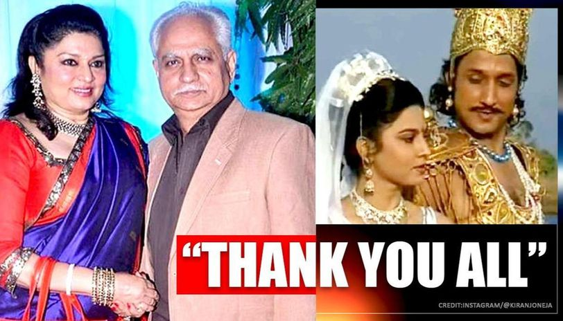 Kiran Joneja conveys gratitude to audiences over 'so much love' for 'Mahabharat' character