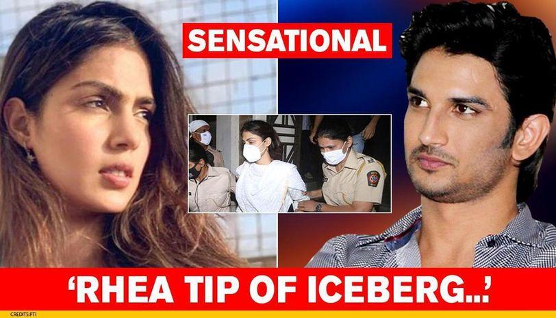 Rhea Chakraborty Others Just Tip Of Iceberg Ncb To Probe Drug Cartel Bollywood Link Republic World