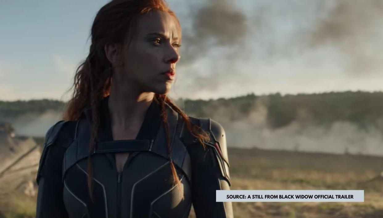 Scarlett Johansson's BLACK WIDOW is now Slowly Turning into WHITE WIDOW