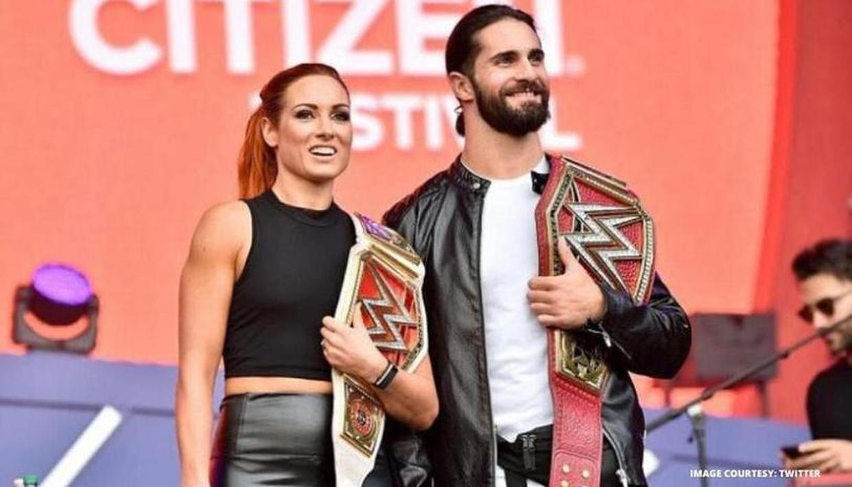Retour en arrière: Becky Lynch de la WWE révèle comment elle a commencé à sortir avec Seth Rollins 2