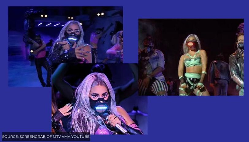 Lady Gaga Masks That Created A Buzz At The Mtv Vmas 2020 See Pictures Republic World