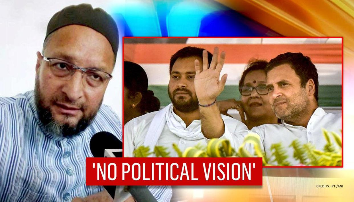 Asaduddin Owaisi mocks Mahagatbandhan's ability to fight BJP, cites dismal LS performance - Republic World