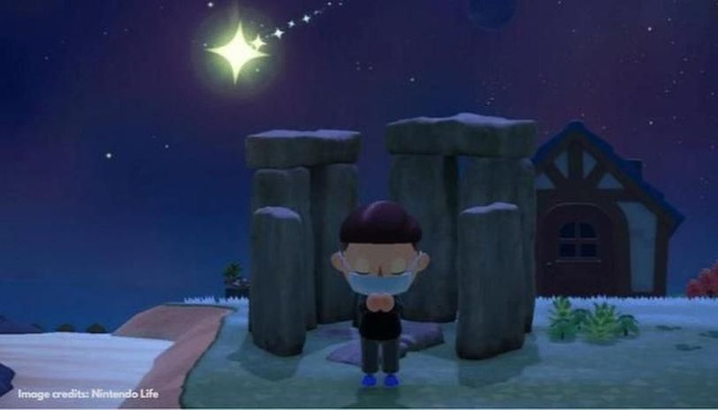 How to wish on stars in Animal Crossing