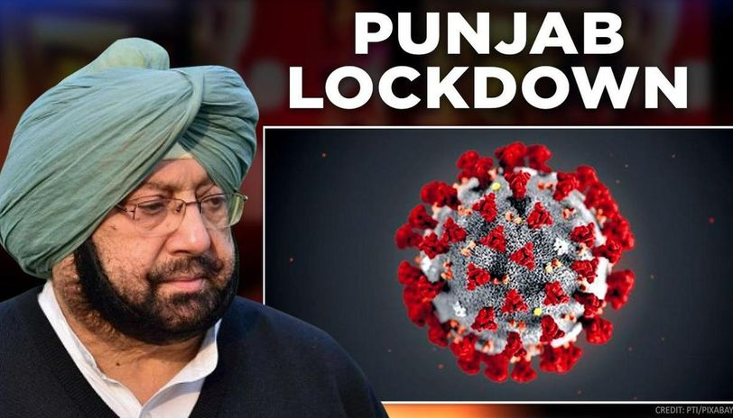 Image result for lock down punjab caiptain