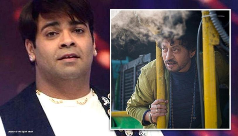 Kiku Sharda shares stills with Irrfan Khan from 'Angrezi Medium' to pay his condolence
