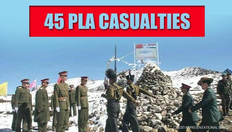 Chinese Army suffered over 45 casualties during Galwan LAC clash ...