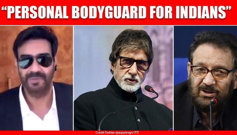 After PM Modi, Ajay Devgn's 'Setu Bodyguard' video draws Big B, Shekhar Kapur's attention