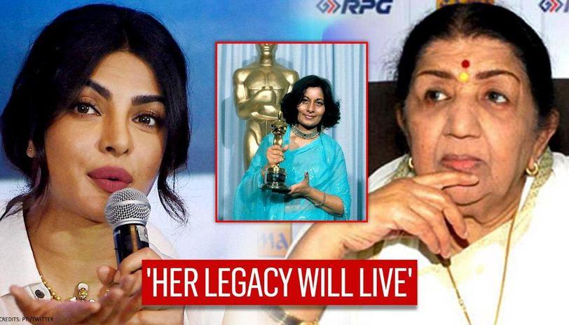 Bhanu Athaiya, India's first Oscar winner's death: Priyanka Chopra, Lata Mangshkar mourn