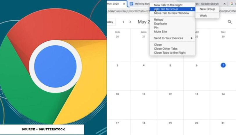how to enable labels in google chrome tabs