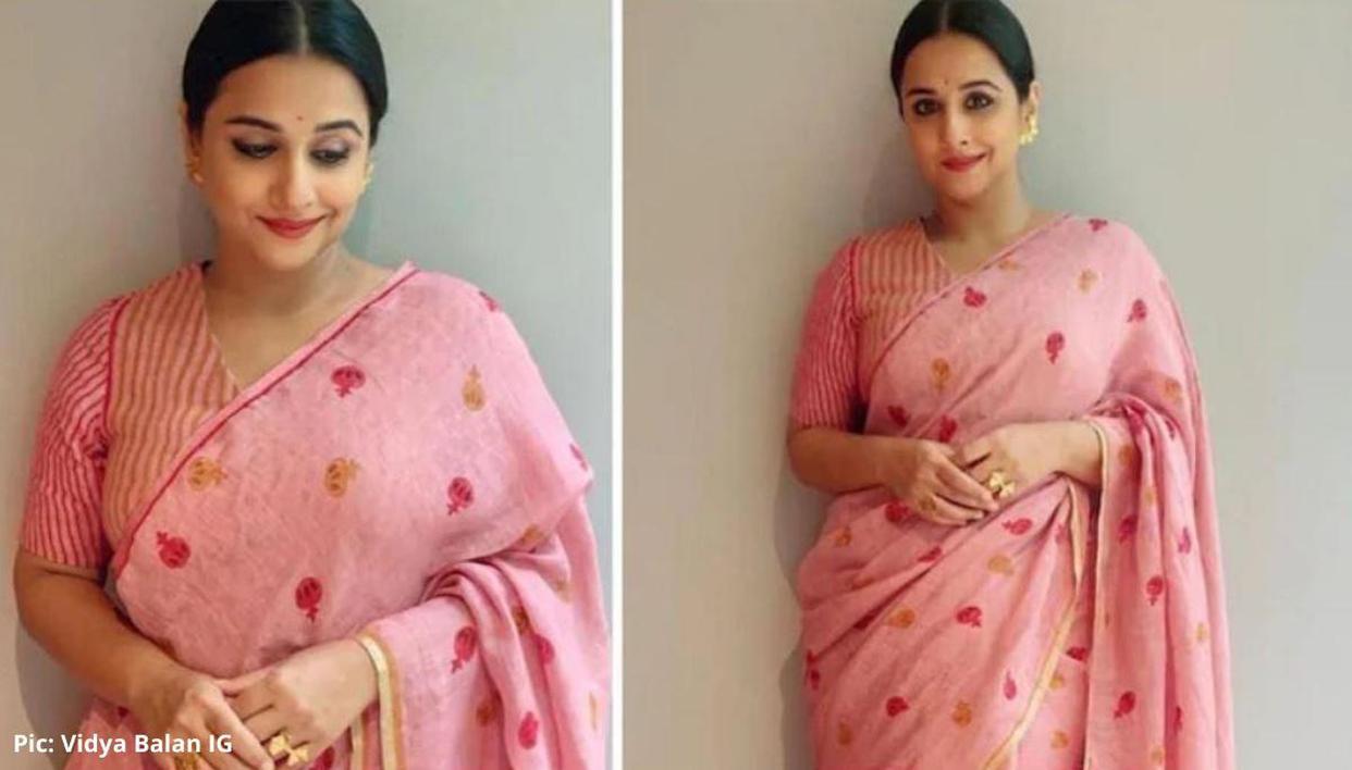 Vidya Balan is nailing her ethnic looks for 'Shakuntala Devi' e-promotions - Republic World