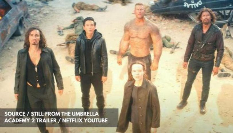 where is the umbrella academy season 2 filmed