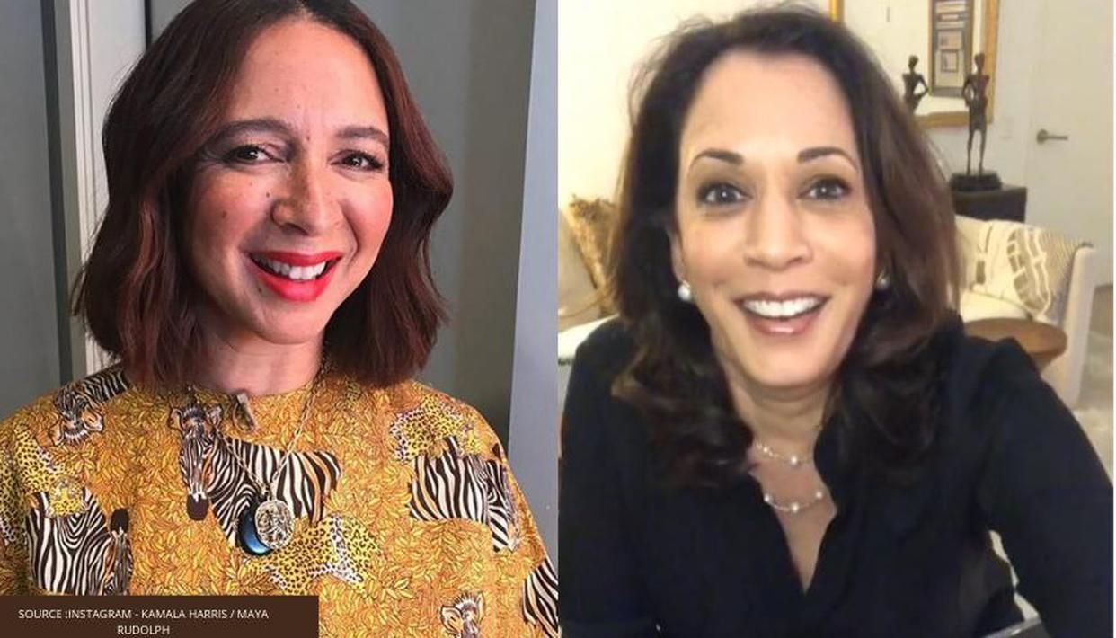 Kamala Harris Runs For Us Vice President Maya Rudolph Receives Witty Text From Lorne