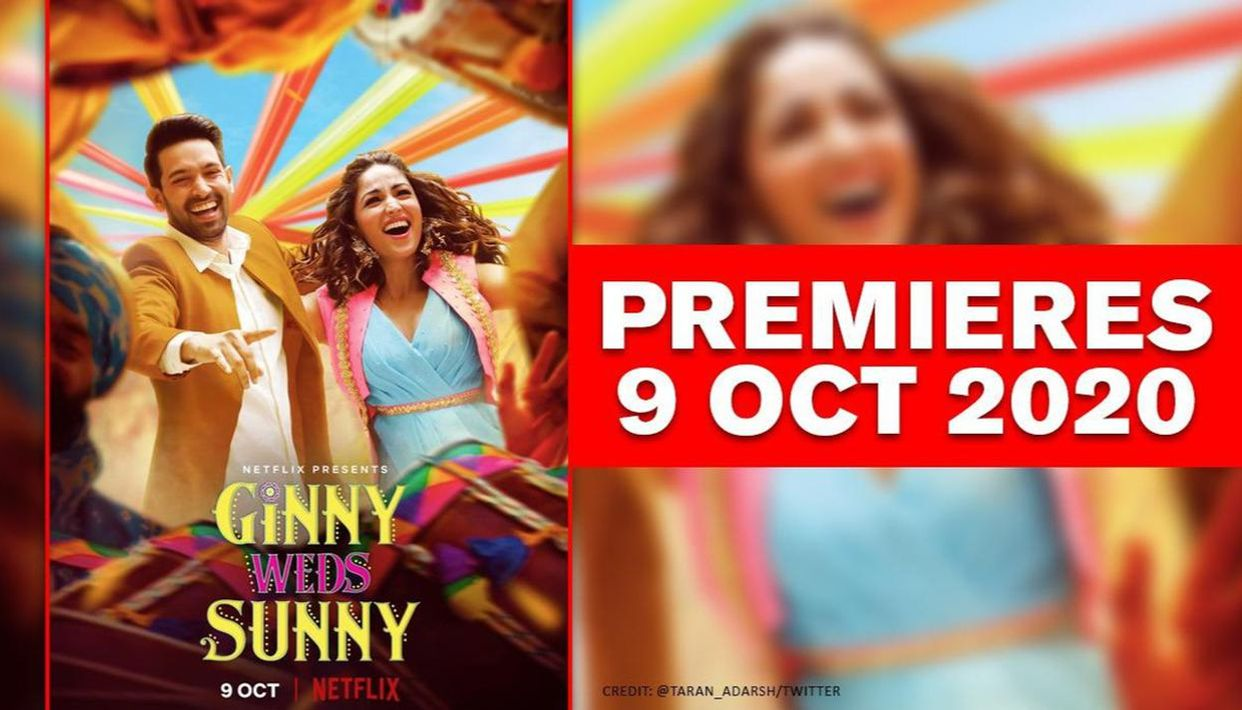 Yami Gautam Vikrant Massey S Ginny Weds Sunny To Release On Netflix In October Republic World