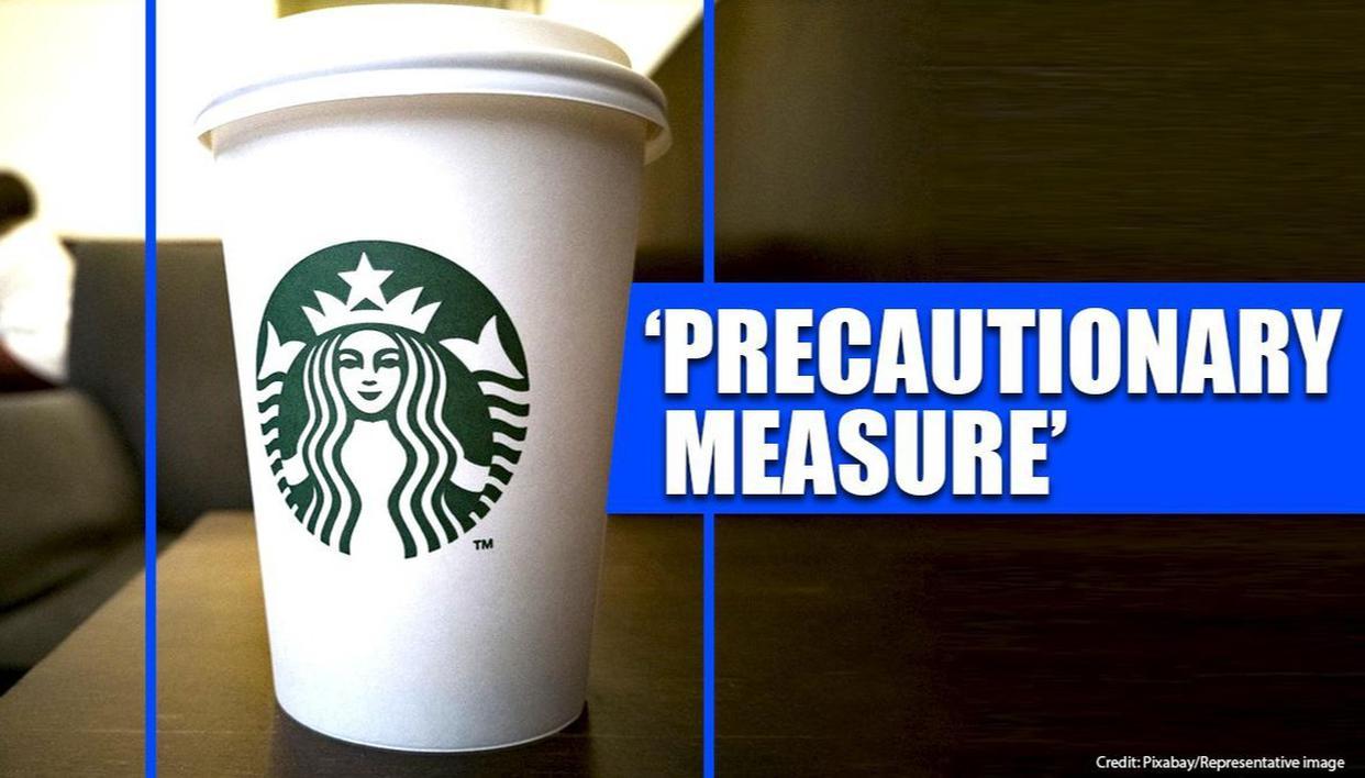 Starbucks bans personal cups over coronavirus