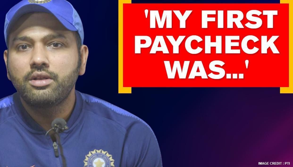 Rohit Sharma reveals his first salary from cricket, says 'spent eating roadside' - Republic World