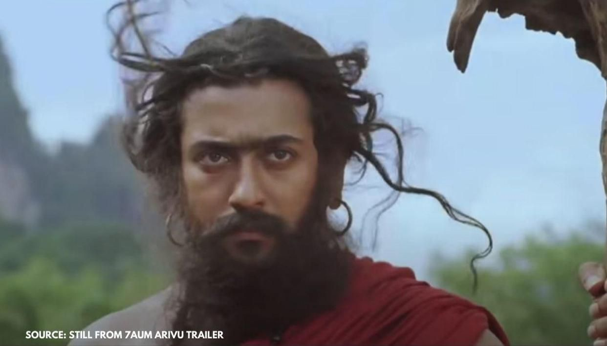 Suriya's unseen photo from '7Aum Arivu' will make fans nostalgic - Republic World