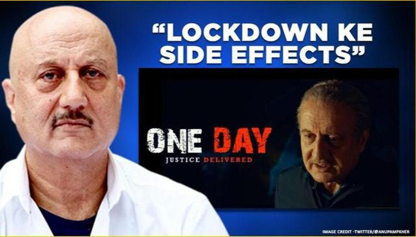 Anupam Kher's 'One Day' premieres online; actor exults over film climbing to '#1 position'