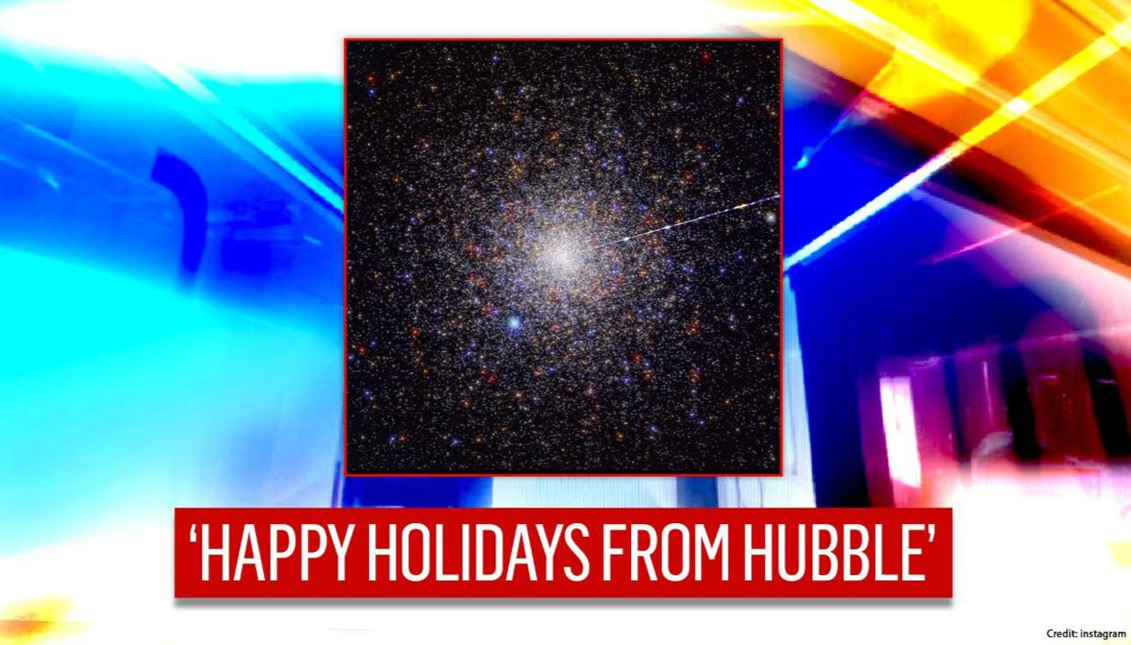 NASAs Hubble shares melodious video, asks to unwrap festive sonification - Republic World