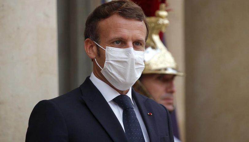 Hamas Protests Against French President Emmanuel Macron