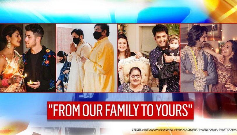Diwali for Bollywood was with family; Priyanka-Nick shine; other stars post stunning pics
