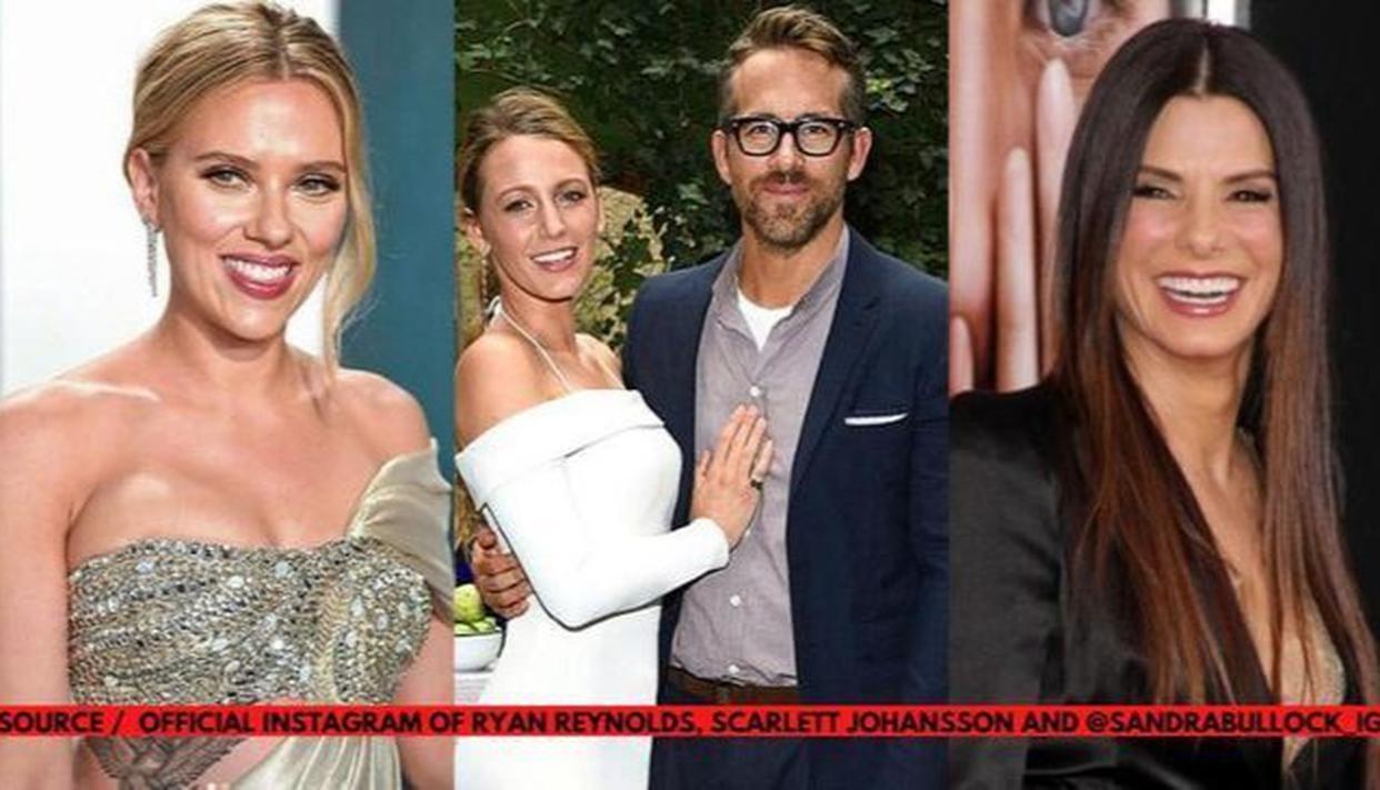 Ryan Reynolds has joked celebrities will 'get us through' the coronavirus pandemic