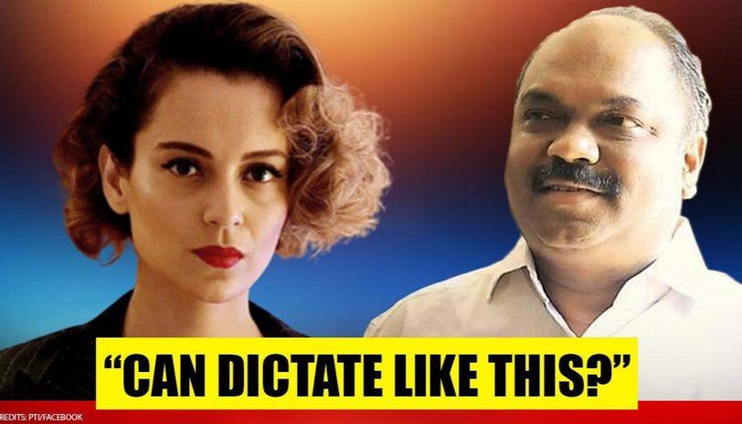 Kangana Ranaut hits back after Maha minister says she 'should leave Mumbai if it's PoK'