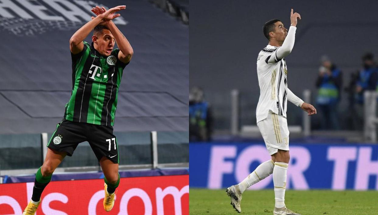 Ferencvaros star Myrto Uzuni copies Cristiano Ronaldo's celebration after  scoring vs Juve