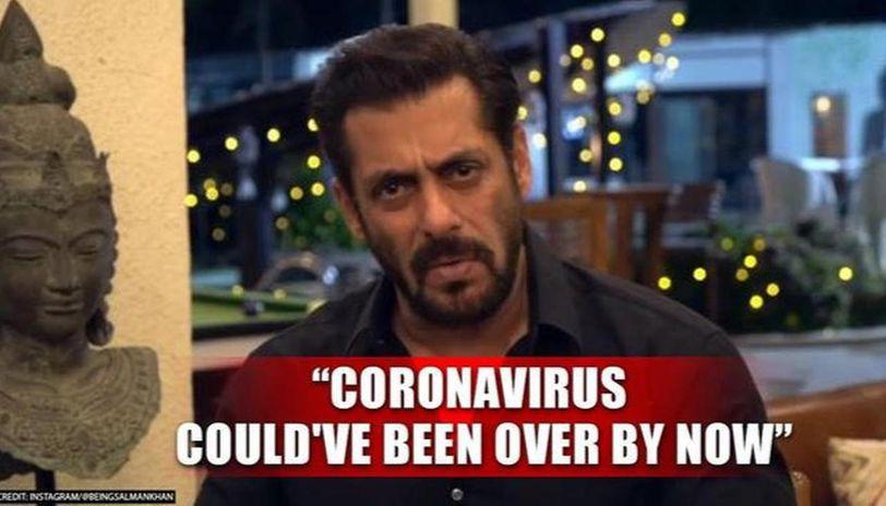 Salman Khan fumes at 'jokers' for breaching lockdown, says 'you'll take India to doom'