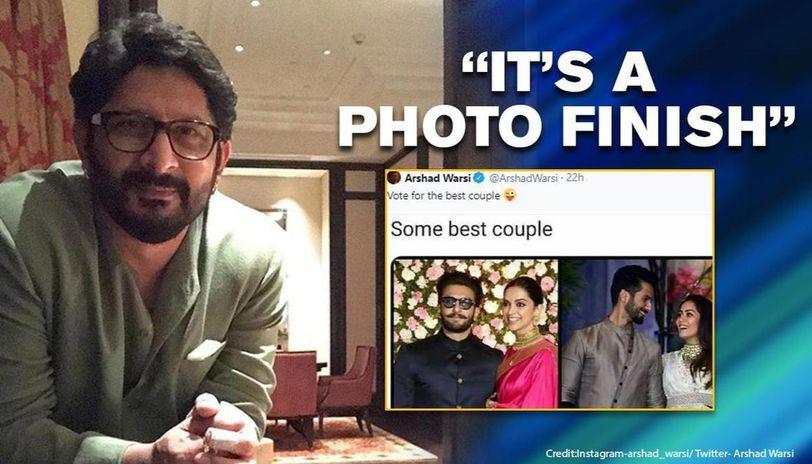 Arshad Warsi posts 'vote for best couple' pic; Deepveer, Saifeena beaten by unusual couple