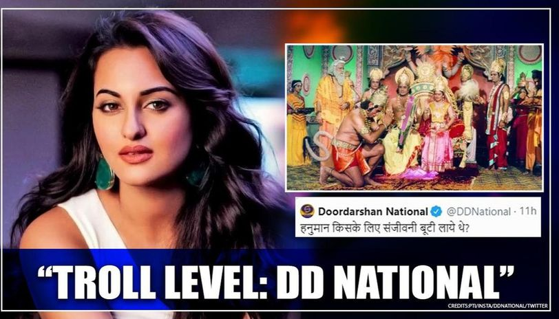'Ramayan': Doordarshan trolled Sonakshi Sinha with poll after episode? Netizens convinced